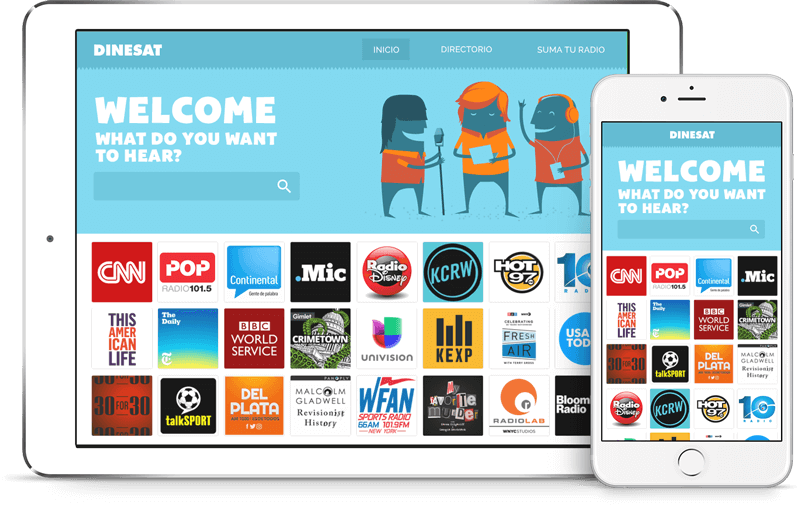 DINESAT RADIO - The ideal solution to automize your radio